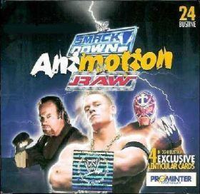 WWE -Smackdown/RAW Animotion Cards mini cartes lenticulaires