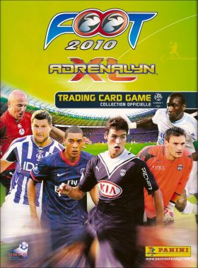 Foot 2010 Adrenalyn XL - Trading Card Game - Panini - France