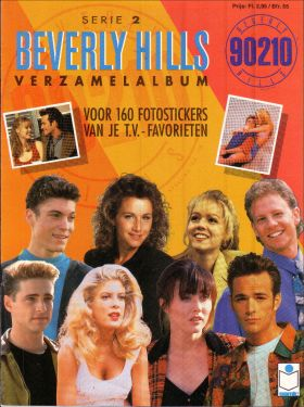 90210 Beverly Hills - Série 2 - Sticker Album - Semic - 1993