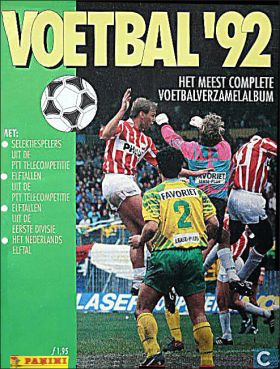 Voetbal 92 - Pays-Bas