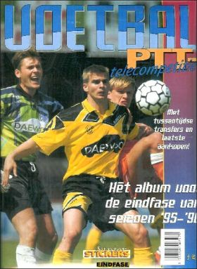 Voetbal  PTT Telecompetitie 95/96- Pays-Bas