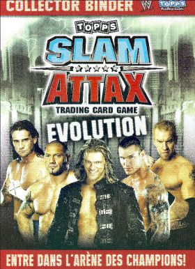 WWE - Slam Attax Evolution - Trading Card game